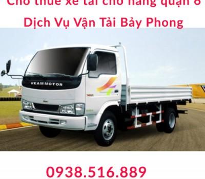 Cho thuê xe tải chuyển văn phòng quận 6 - Dịch Vụ Vận Tải Bảy Phong – 0938.516.889