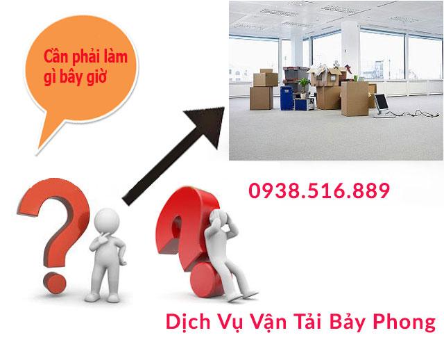 Dịch vụ chuyển nhà trọn gói tại quận 6 – Dịch Vụ Vận Tải Bảy Phong – 0938.516.889